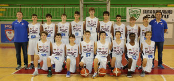 UNDER 14 ELITE, BELLA VITTORIA IN RIMONTA PER IL PGC