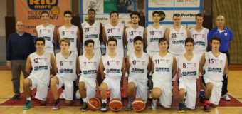UNDER 18 REGIONALE, SI FERMA AI QUARTI LA CORSA DEL TEAM ABC